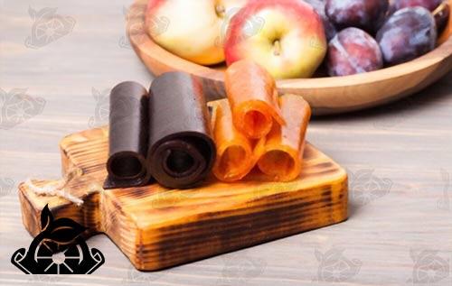 صادرات لواشک میوه ای
